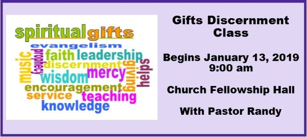 Gifts Discernment Class Faith Mennonite Churchfaith Mennonite Church